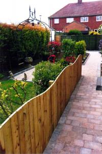 garden fencing in malton